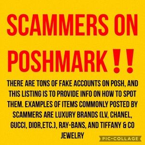 🛑SCAMMERS ON POSH🛑